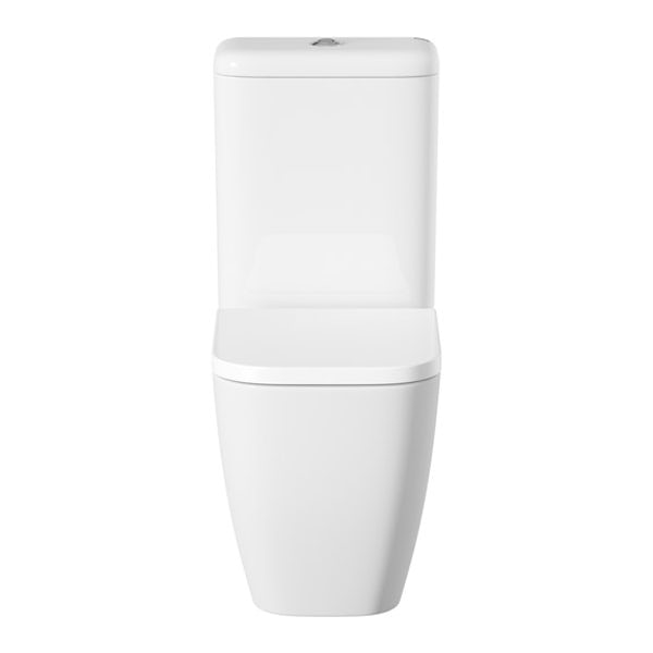 Mode Ellis close coupled toilet inc soft close seat with pan connector