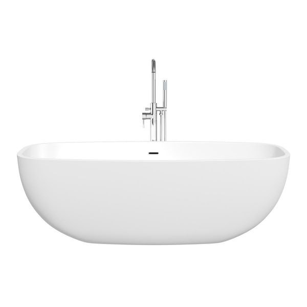 SmarTap & Mode Ellis complete suite with freestanding bath with intelligent fill, taps and wastes