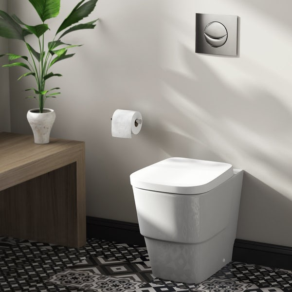 Mode Foster back to wall toilet with soft close seat