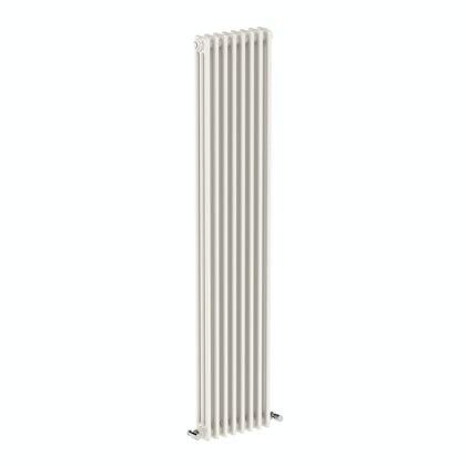 Dulwich vertical white triple column radiator 1800 x 378