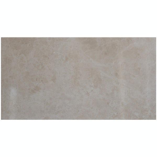British Ceramic Tile Earth stone effect gloss tile 298mm x 598mm