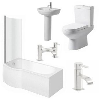 Balance Complete Bathroom Suite LH