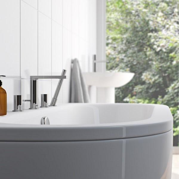 Mode Heath 4 hole bath shower mixer tap