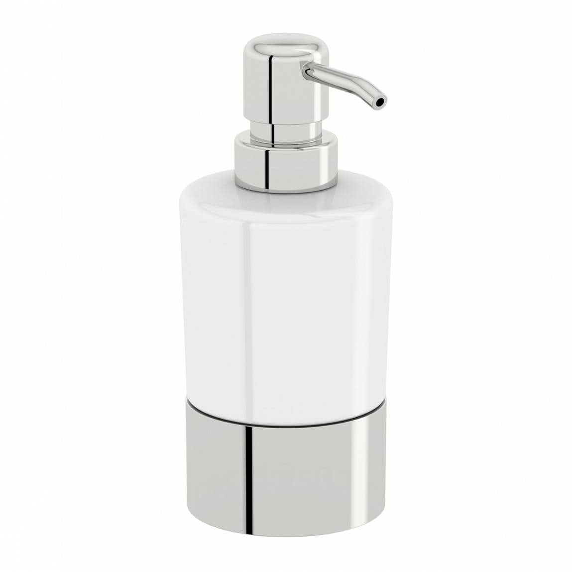 Options Freestanding Ceramic Soap Pump Dispenser