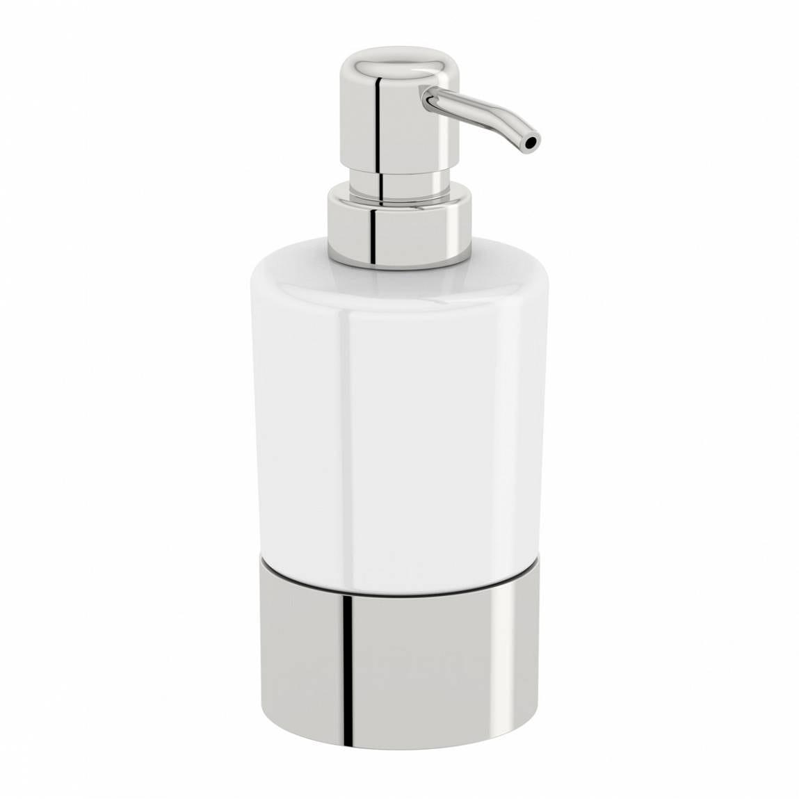 Orchard Options freestanding ceramic soap dispenser
