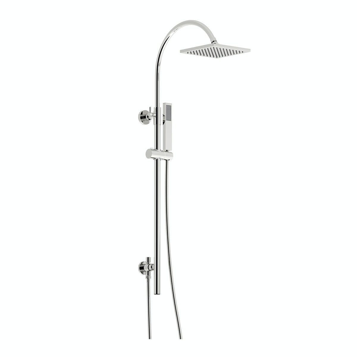 Mode Aria square shower riser kit