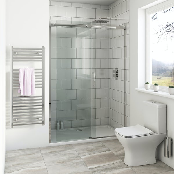 Mode Harrison 8mm easy clean sliding shower door