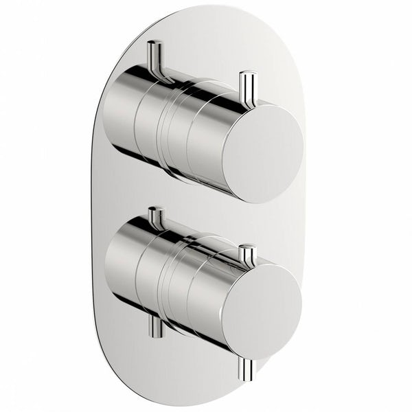 Matrix Oval Twin Valve with Diverter