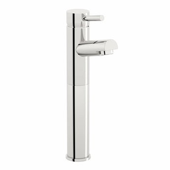 Matrix high rise counter top basin mixer tap