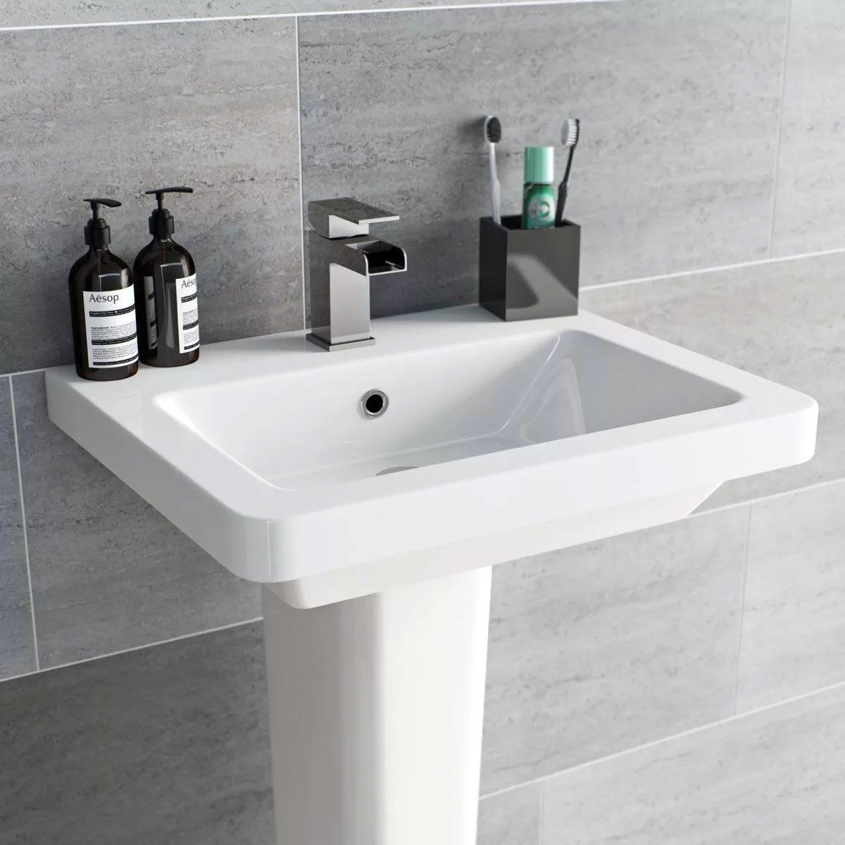 British Ceramic Tile Metropolis mid grey matt tile 248mm x 498mm - Sold by Victoria Plum