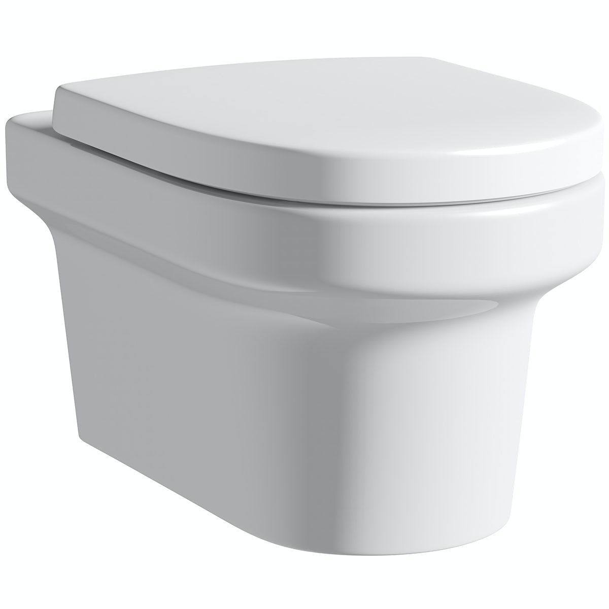 Mode Burton wall hung toilet with soft close seat