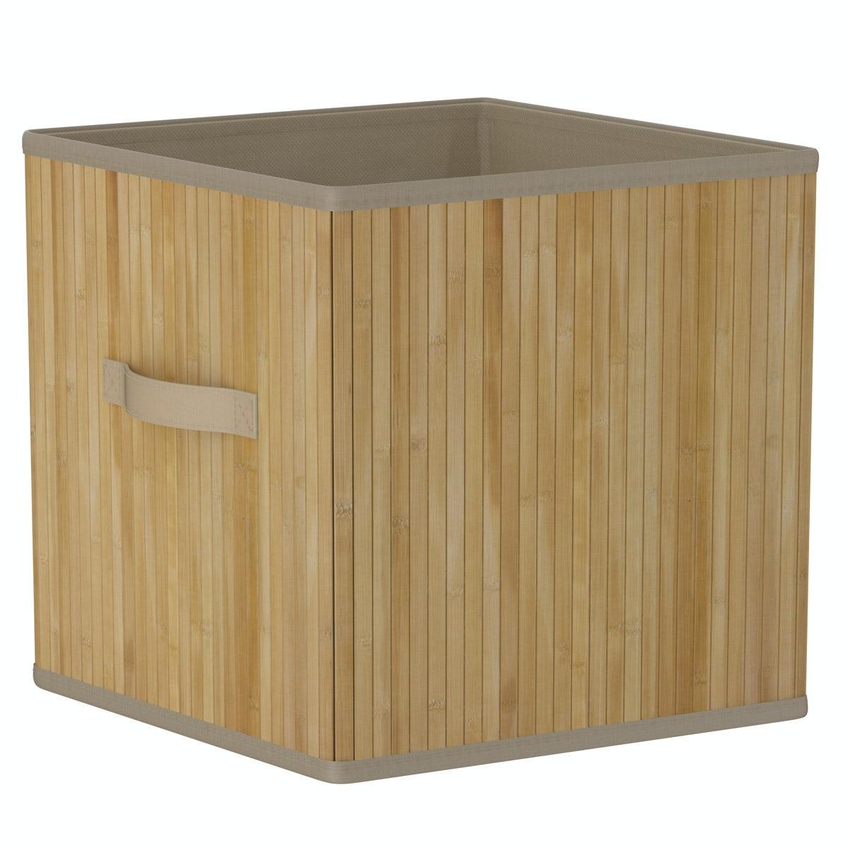 Orchard Natural bamboo storage basket
