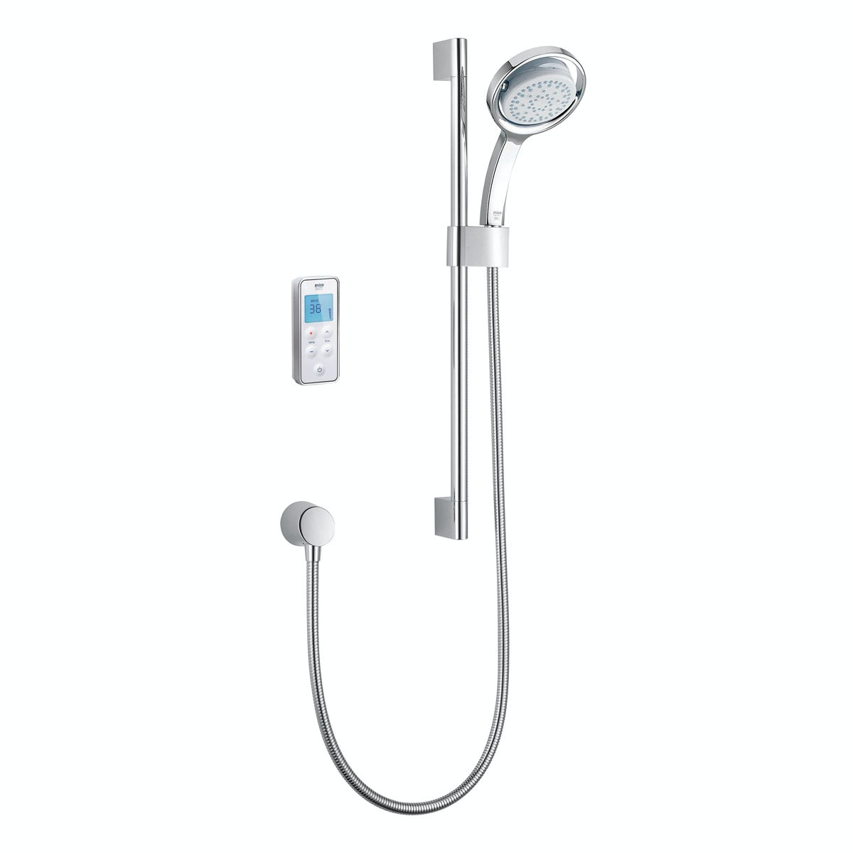 Mira Vision rear fed digital shower standard