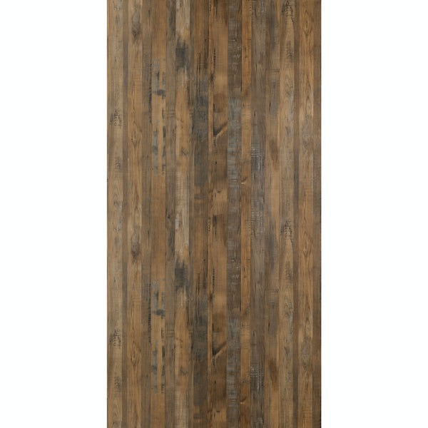 Multipanel Linda Barker Salvaged Plank unlipped shower wall panel 2400 x 1200