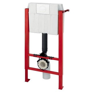 Macdee Wirquin universal wall hung frame inc. push button cistern