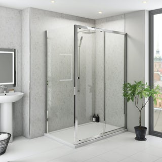 Multipanel Classic Beige Eiger Hydrolock shower wall panel 598