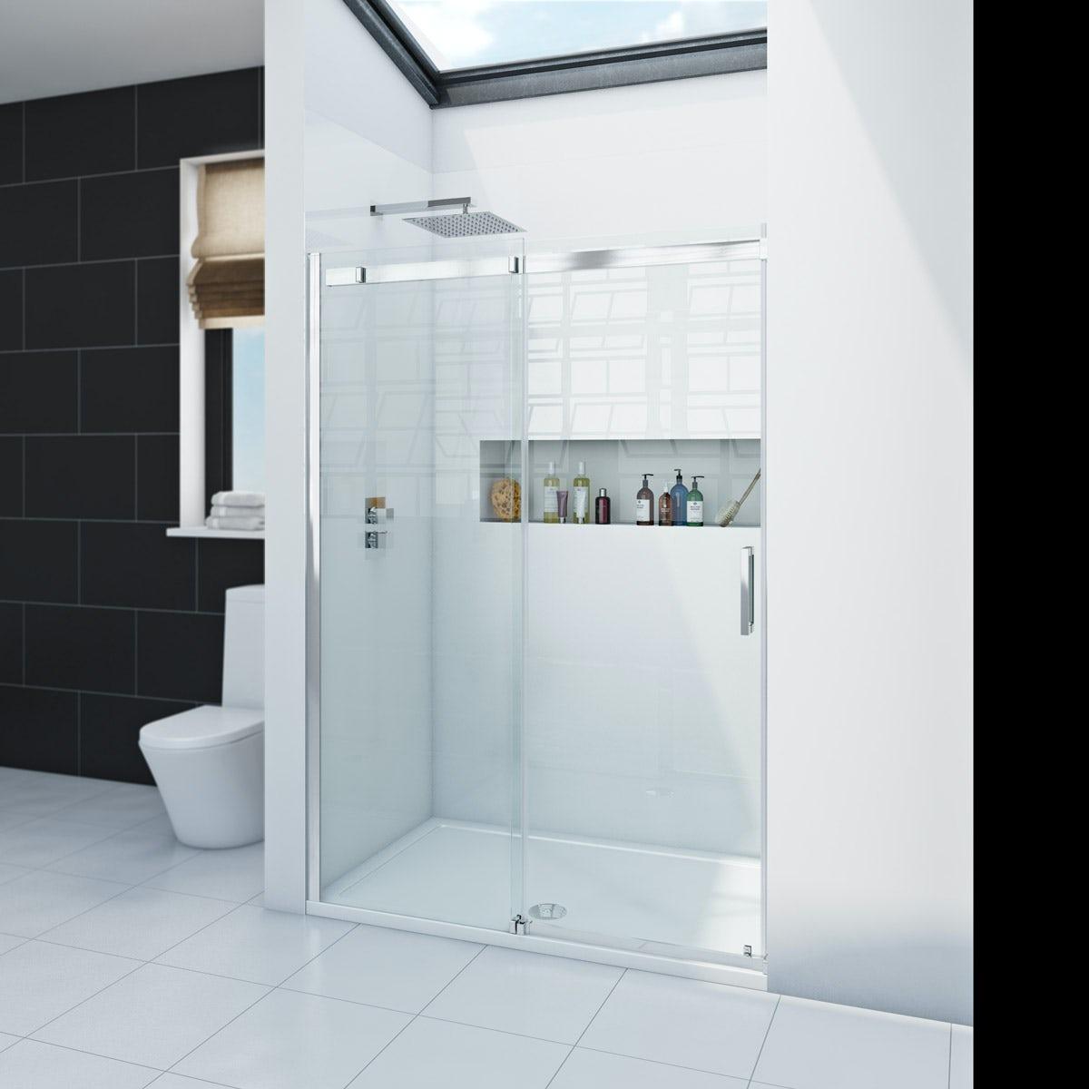 Zenolite plus ice acrylic shower wall panel 2440 x 1220