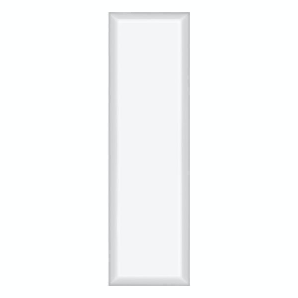 V&A Maxi Metro white gloss tile 148mm x 498mm