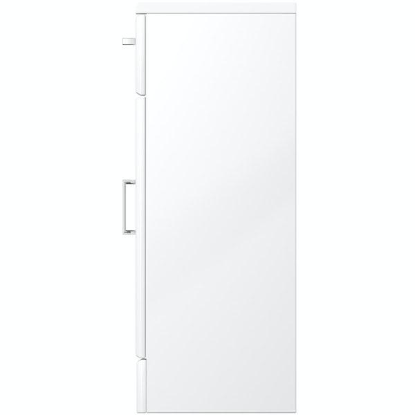 Eden white storage unit 300mm