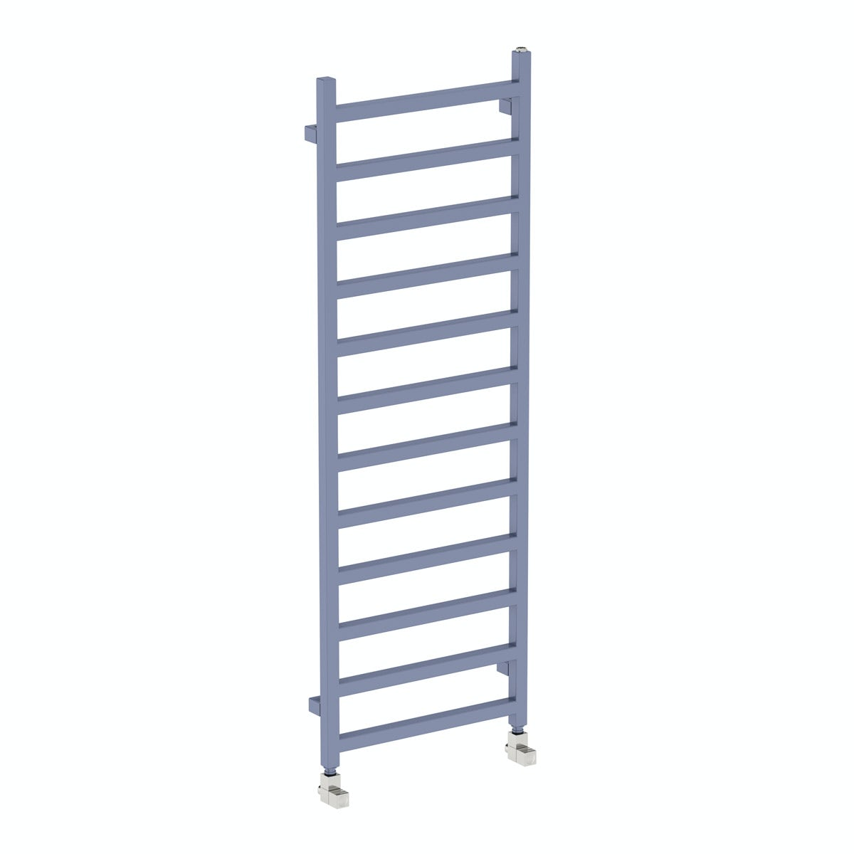 Terma Simple pigeon blue heated towel rail 1440 x 500