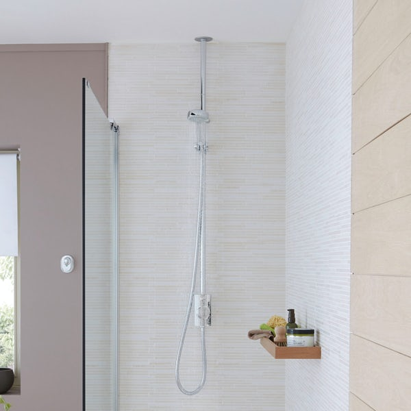 Aqualisa visage exposed digital shower standard