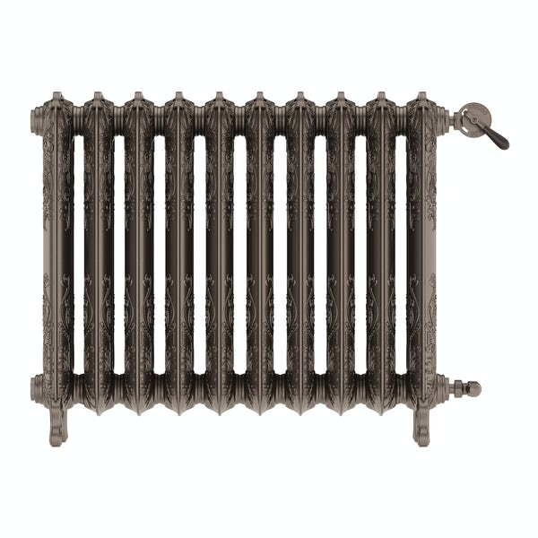 Oxford russet freestanding cast iron radiator 710 x 852