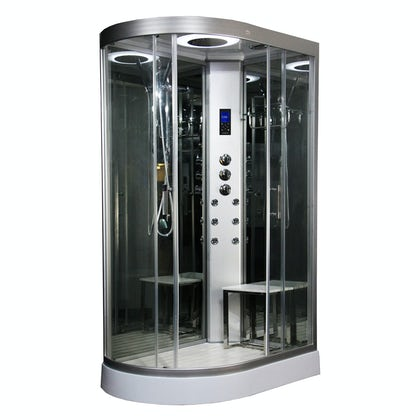 Insignia right handed offset quadrant hyrdo-massage shower cabin 1200 x 800