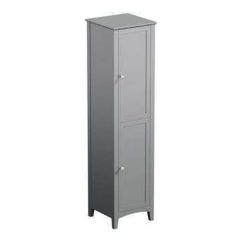 The Bath Co. Camberley grey tall storage unit