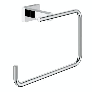 Grohe Essentials Cube towel ring