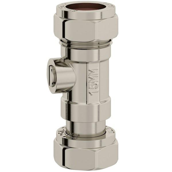 Pack of 10 toilet inlet shut off valves