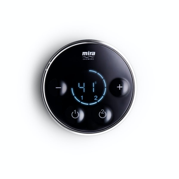 Mira Platinum dual digital shower valve and controller standard