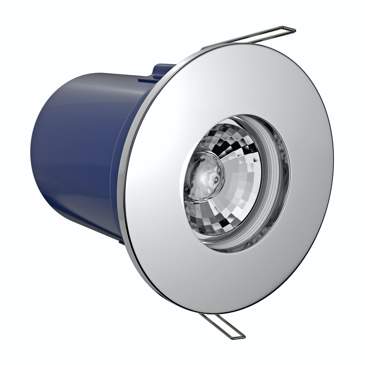Forum IP65 fire rated cool white shower light in chrome