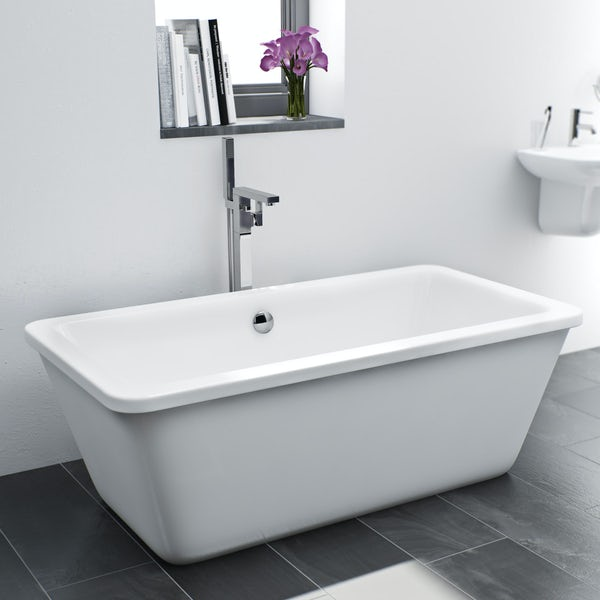 Mode Ellis freestanding bath filler tap