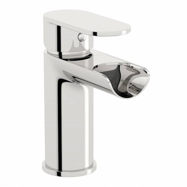 Eden basin and bath shower mixer tap pack