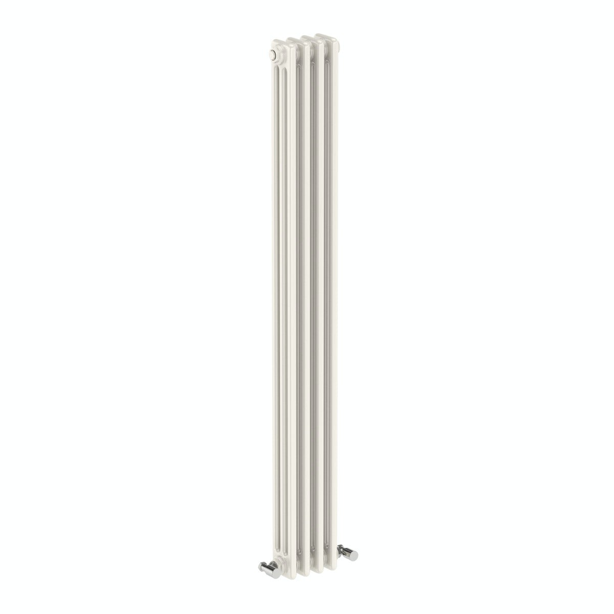 Vertical white triple column radiator 1500 x 155
