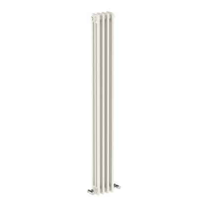 The Bath Co. Dulwich vertical white triple column radiator 1500 x 200
