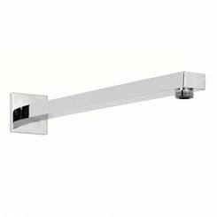Square wall shower arm 350mm