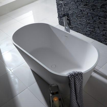 Belle de Louvain Goda solid surface sotne resin freestanding bath