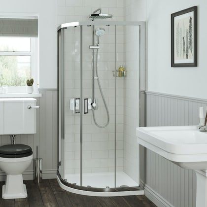 Mira Leap quadrant shower enclosure