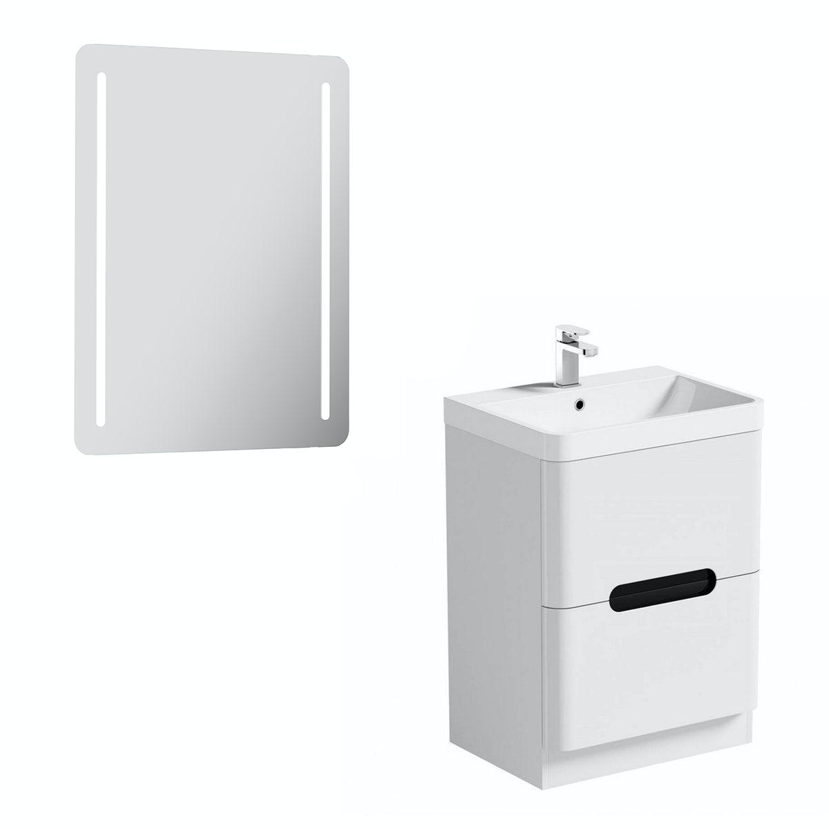 Mode Ellis essen vanity unit 600mm and mirror offer