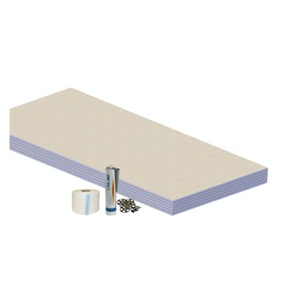 Waterproof floor kit 4.32 sq m
