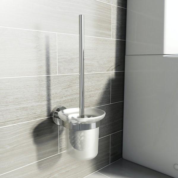 Lunar Toilet Brush and Holder