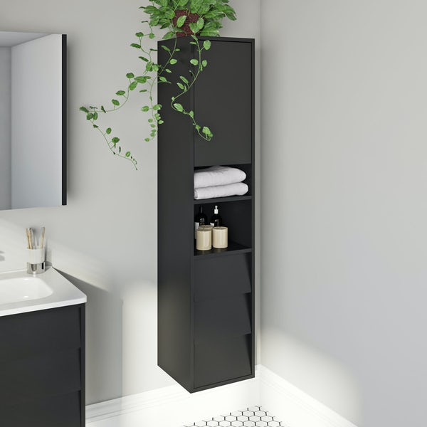 Mode Cooper anthracite side cabinet