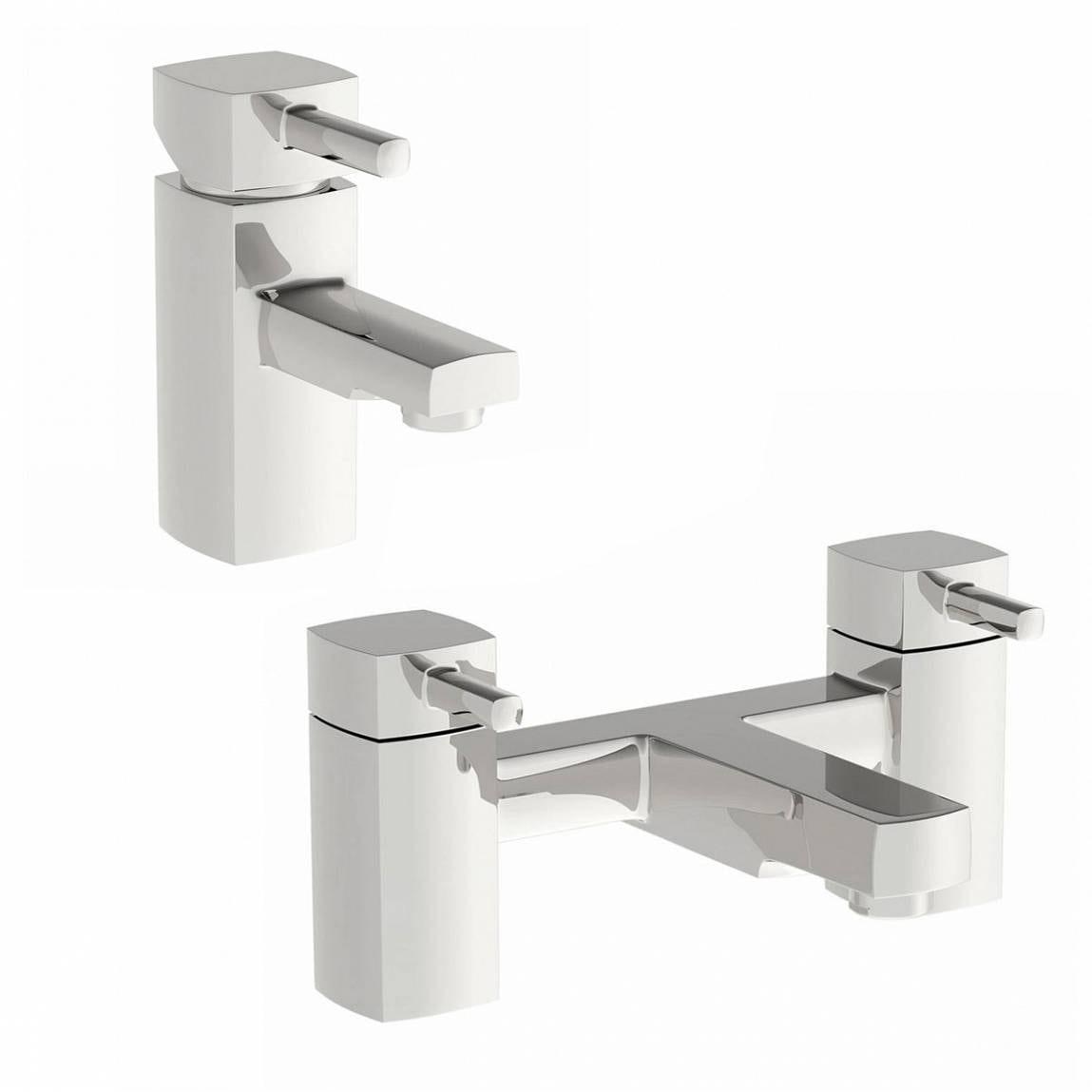 Derwent Basin and Bath Mixer Pack