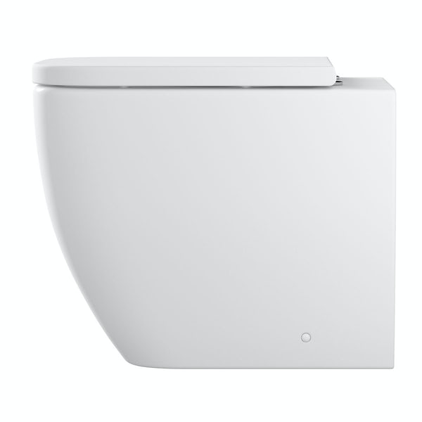 Mode Ellis back to wall toilet inc soft close seat