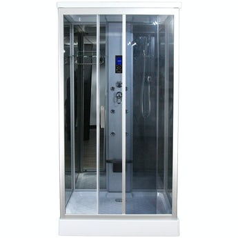 Insignia rectangular hydro-massage shower cabin 1100 x 890