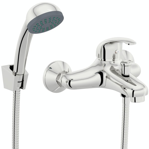 Orchard Dart basin and bath mixer shower tap pack