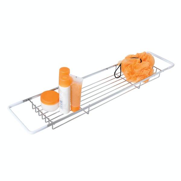 Croydex Rust free flat bar bath rack