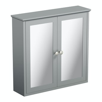 Camberley Grey Mirror Cabinet Special Offer