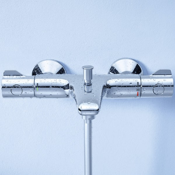 Grohe Grohtherm 800 thermostatic bath shower mixer tap